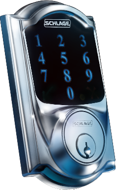 Touchscreen Deadbolt